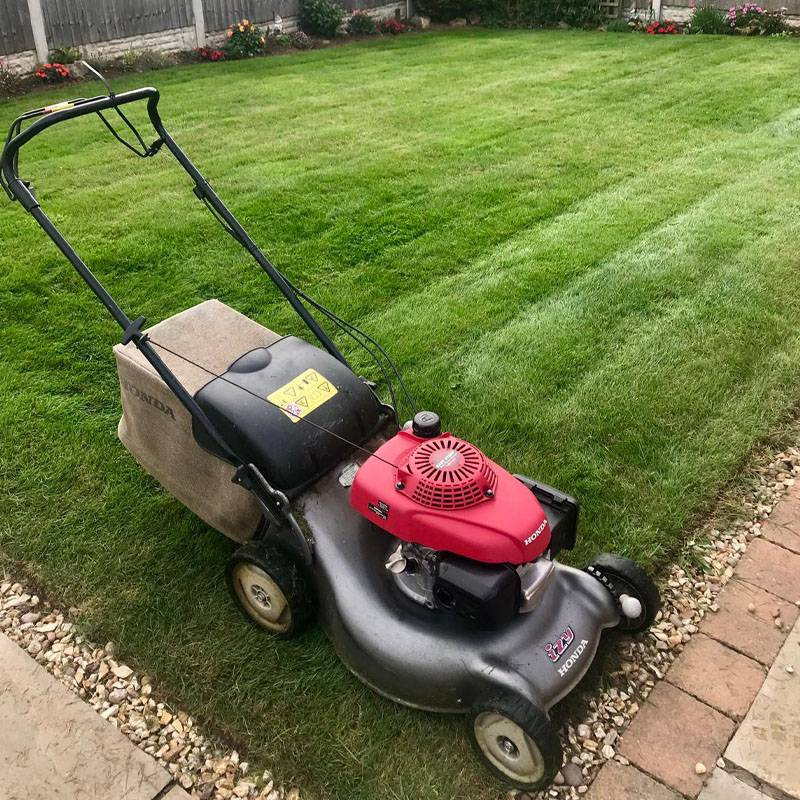 lawn mowing lawntec mansfield